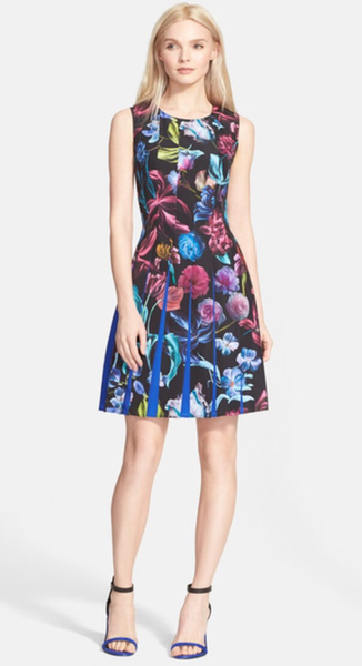 85d24205698 Ted Baker London Edelfi Floral Pleated Dress – Trends by Diva