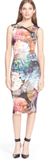 Ted Baker London Mayzi Floral Print Bodycon Dress