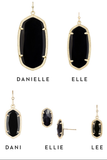 Kendra Scott 'Danielle' Large Oval Statement Earrings - Multiple Colors