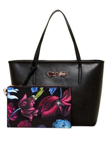 Ted Baker London Norela Bow Crosshatch Shopper