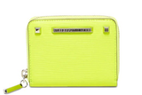 Rebecca Minkoff Ava Mini Zip Leather Wallet - Multiple Colors