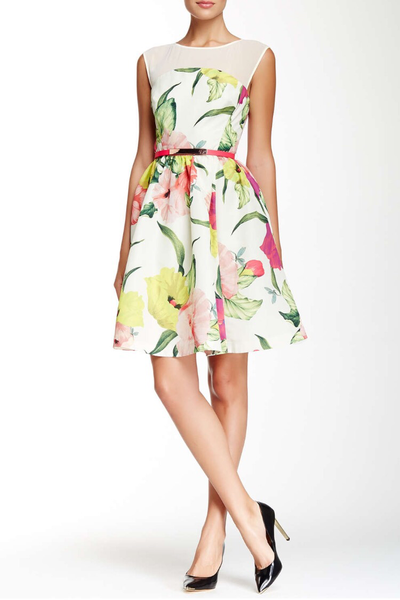 eed85f62f3e1d Ted Baker London Iberis Flowers at High Tea Dress – Trends by Diva