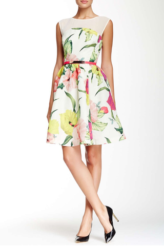 Ted Baker London Iberis Flowers at High Tea Dress