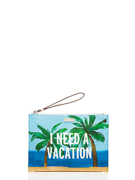 Kate Spade New York Breath of Fresh Air Vacation Medium Bella Pouch