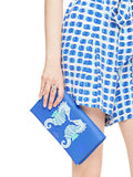 Kate Spade New York Breath of Fresh Air Seahorse Appliqué Cali