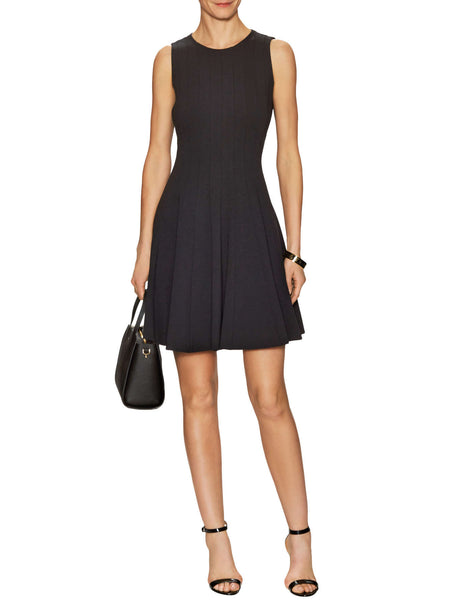 Kate Spade New York Pleated Ponte Dress