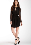 Diane von Furstenberg Tatum Embellished Dress