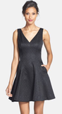 Erin Fetherston Veronica Bow Back Cocktail Dress