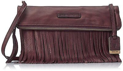 Frye Heidi Stud Fringe Leather Crossbody - Multiple Colors