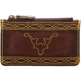 Frye Campus Stitch Leather Card Wallet - Multiple Colors