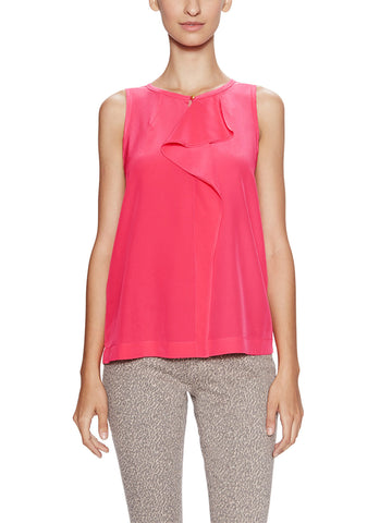 Marc by Marc Jacobs Alex Silk Ruffle Shell