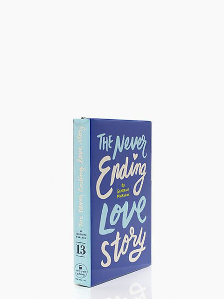 Kate Spade New York 'Never Ending Love Story' Book Clutch