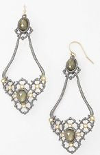 Alexis Bittar Elements Muse d'Ore Oval Drop Earrings