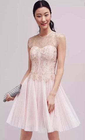Ted Baker London Remma Lace Overlay Dress