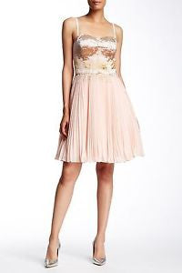 Ted Baker London Calita Embellished Bodice Dress