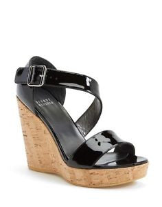 Stuart Weitzman Oneliner Patent Platform Sandals - Multiple Colors