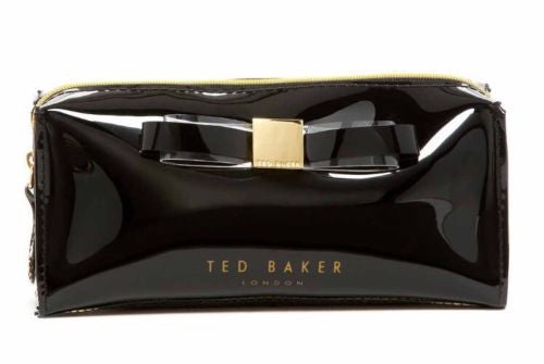 Ted Baker London Sahra Black Cosmetic Case