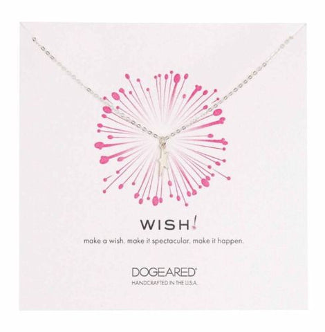 Dogeared Sterling Silver Wish Dancing Star Necklace