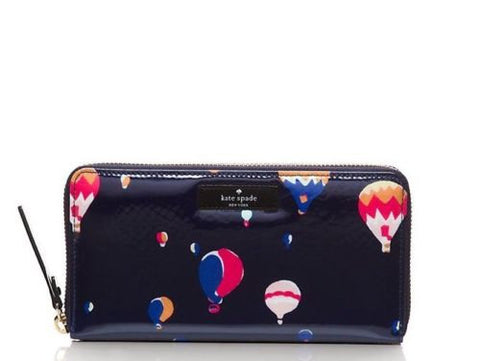 Kate Spade New York Daycation Neda Carried Away Hot Air Ballon Wallet