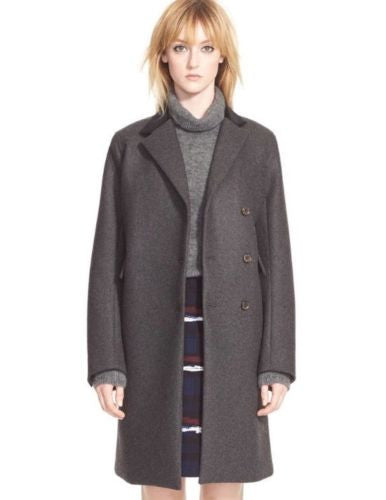 Marc by Marc Jacobs 'Norman' Bonded Wool Coat