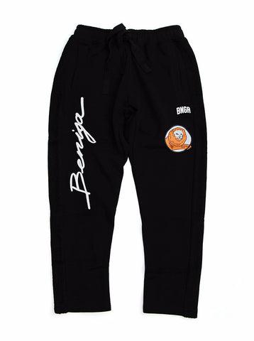 BNGA Sweat Slacks | Black