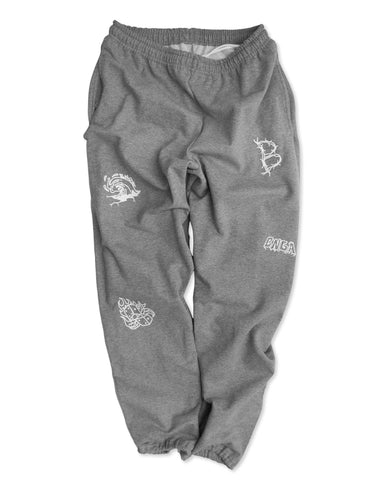 BNGA Sweatpants | Grey