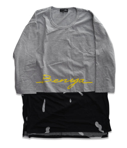 "BNGA Split ""Beniga"" Tee (Black) 