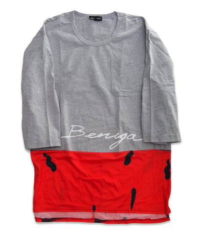 "BNGA Split ""Beniga"" Tee (Red) 