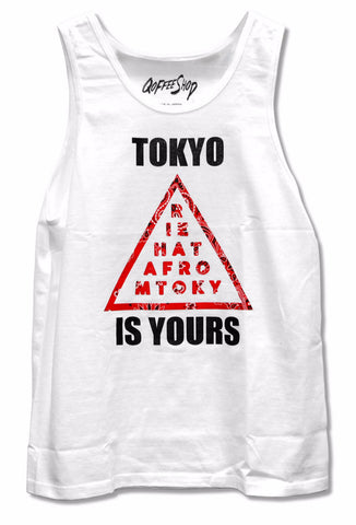 "QoffeeShop ""Tokyo is Yours"" Tank 