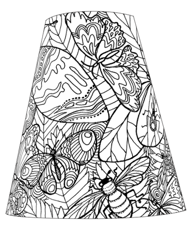 20 - COLOUR YOUR OWN Butterflies, Bees and Dragonflies, oh my!