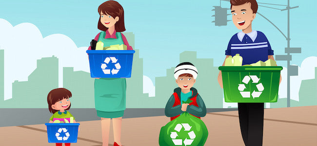 15 Easy Tips to Get Your Kids to Recycle