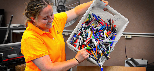 15 Ways to Recycle or Upcycle School Supplies