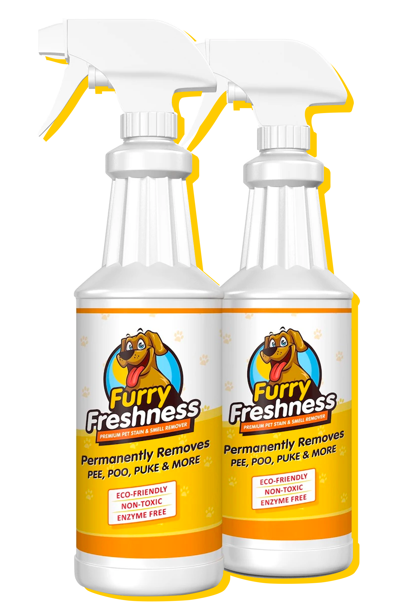FurryFreshness 32oz Bottle 2 Pack - Giveaway Special