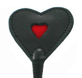 Strict Leather Heart Tip Crop