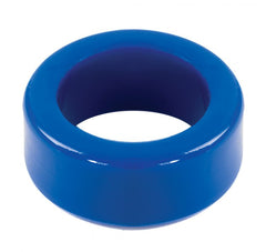 Doc Johnson TitanMen Stretch-to-Fit Cock Ring- Blue