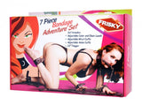 Frisky 7 Piece Bondage Adventure Set
