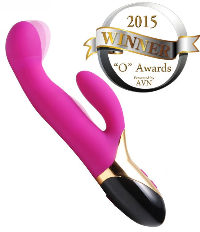 Inmi Come Hither Dual Stimulation Flexing Vibrator