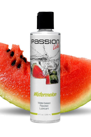 Passion Licks Water Based Flavored Lubricant - 8 oz