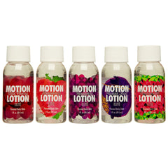 Doc Johnson Motion Lotion Elite Sampler 5 Pack