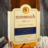 Nonesuch Single Grain Tasmanian Whisky Label Image