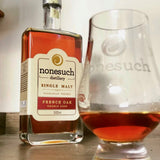 whisky with nonesuch glass