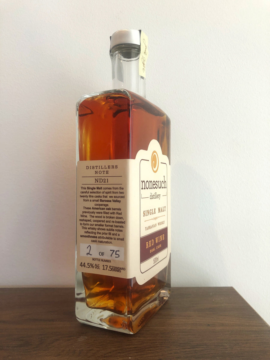 Single Malt Whisky - Red Wine Dual Cask - ND21