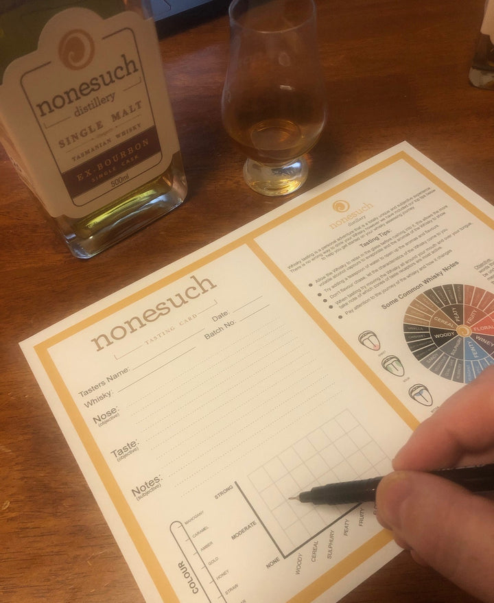 FREE Whisky Tasting Sheet (download)