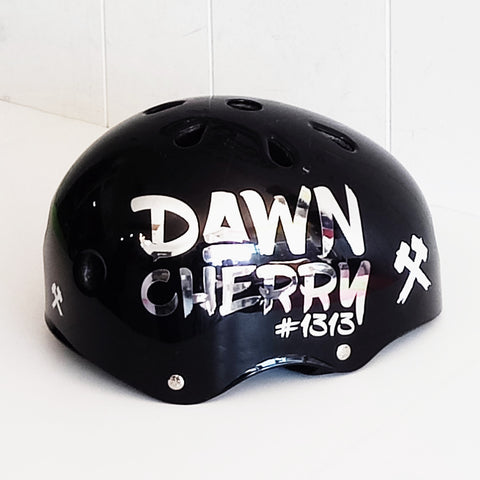 Custom Helmet Sticker