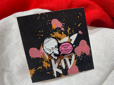Smash the Patriarchy Pin