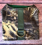 Desert Camo Dog Walking Harness