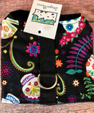 Day of the Dead Dog Walking Harness