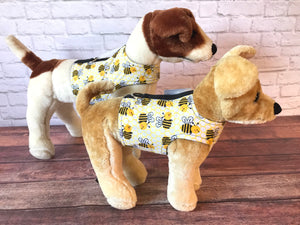 Bumble Bees Dog Walking Harness