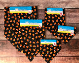Candy Corn collar Bandana