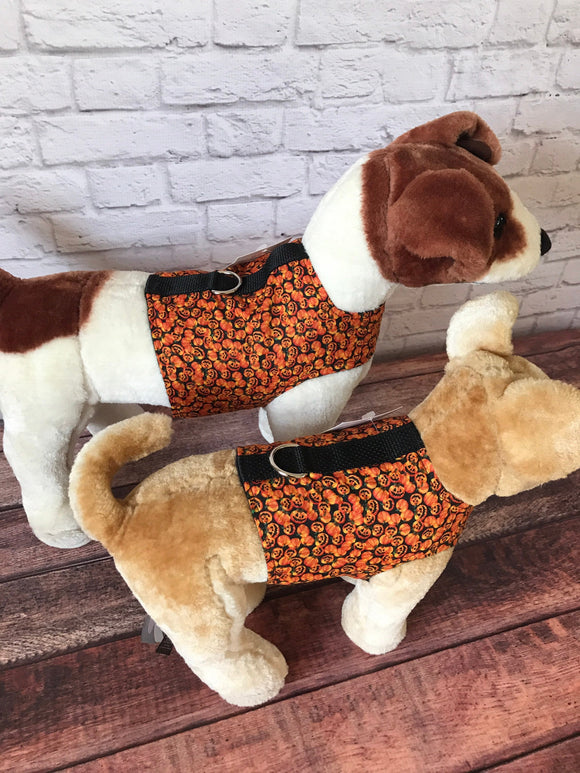 Mini pumpkins Dog Walking Harness